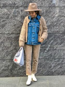 LINKS UMEDA店のhiroさんのSOMETHINGのSOMETHING BIG DENIM JACKETを使ったコーディネート