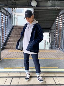 DENIM GALAXY日暮里店のChihiro.さんのEDWINの503 スリムテーパードを使ったコーディネート