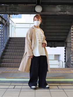 DENIM GALAXY日暮里店のChihiro.さんのSOMETHINGのSOMETHING PRINT TUNICを使ったコーディネート
