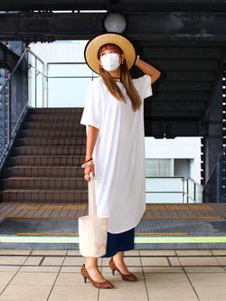DENIM GALAXY日暮里店のChihiro.さんのC17の終了【サマーセール】C17 ガウチョを使ったコーディネート