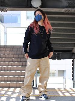 DENIM GALAXY日暮里店のChihiro.さんのEDWINの終了【サマーセール】OLD AD SUMIMASEN Tシャツ 長袖を使ったコーディネート