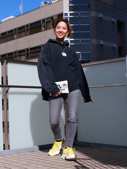 DENIM GALAXY日暮里店のChihiro.さんのSOMETHINGの【GISELe 10月号掲載】SOMETHING ANN THE LOW アンクルを使ったコーディネート