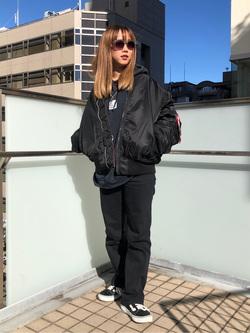 DENIM GALAXY日暮里店のChihiro.さんのSOMETHINGの【決算SALE】SOMETHING LISA マイクロフレアを使ったコーディネート