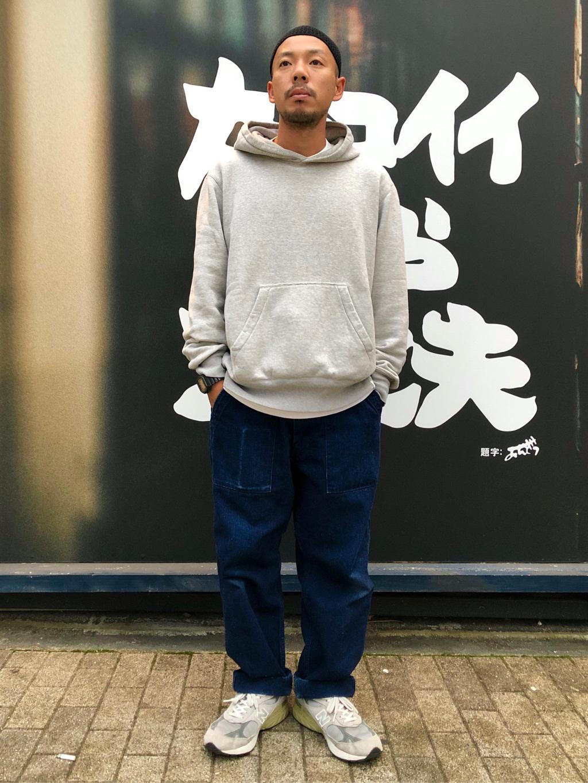 MINAMIHORIE店のカワノショウタさんのEDWINの【コンセプトショップ限定】HOODIEを使ったコーディネート