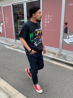 MINAMIHORIE店のカワノショウタさんのEDWINの【コンセプトショップ限定】EDWIN EUROPE SLIM TAPEREDを使ったコーディネート