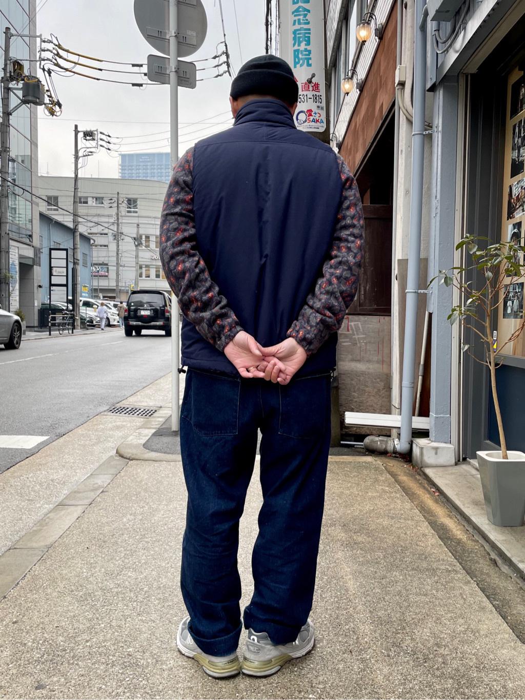 MINAMIHORIE店のカワノショウタさんのEDWINの【Winter sale】【コンセプトショップ限定】F.L.E NAVY PACK  LEVEL7 VESTを使ったコーディネート