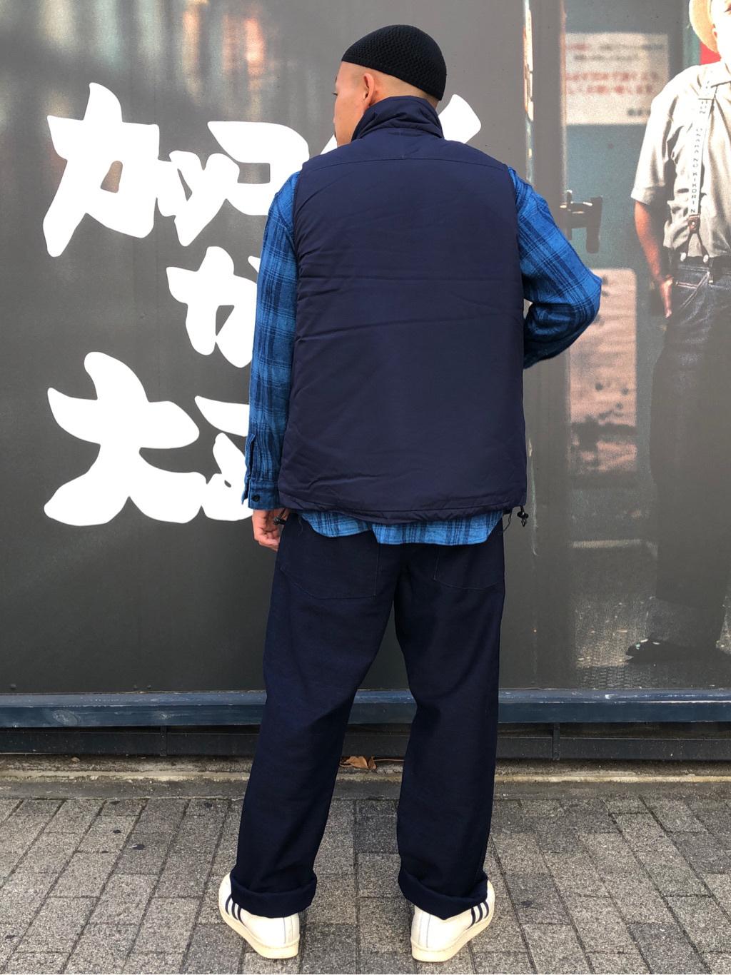 MINAMIHORIE店のカワノショウタさんのEDWINの【コンセプトショップ限定】INDIGO GARMENTS FATIGUE PANTSを使ったコーディネート