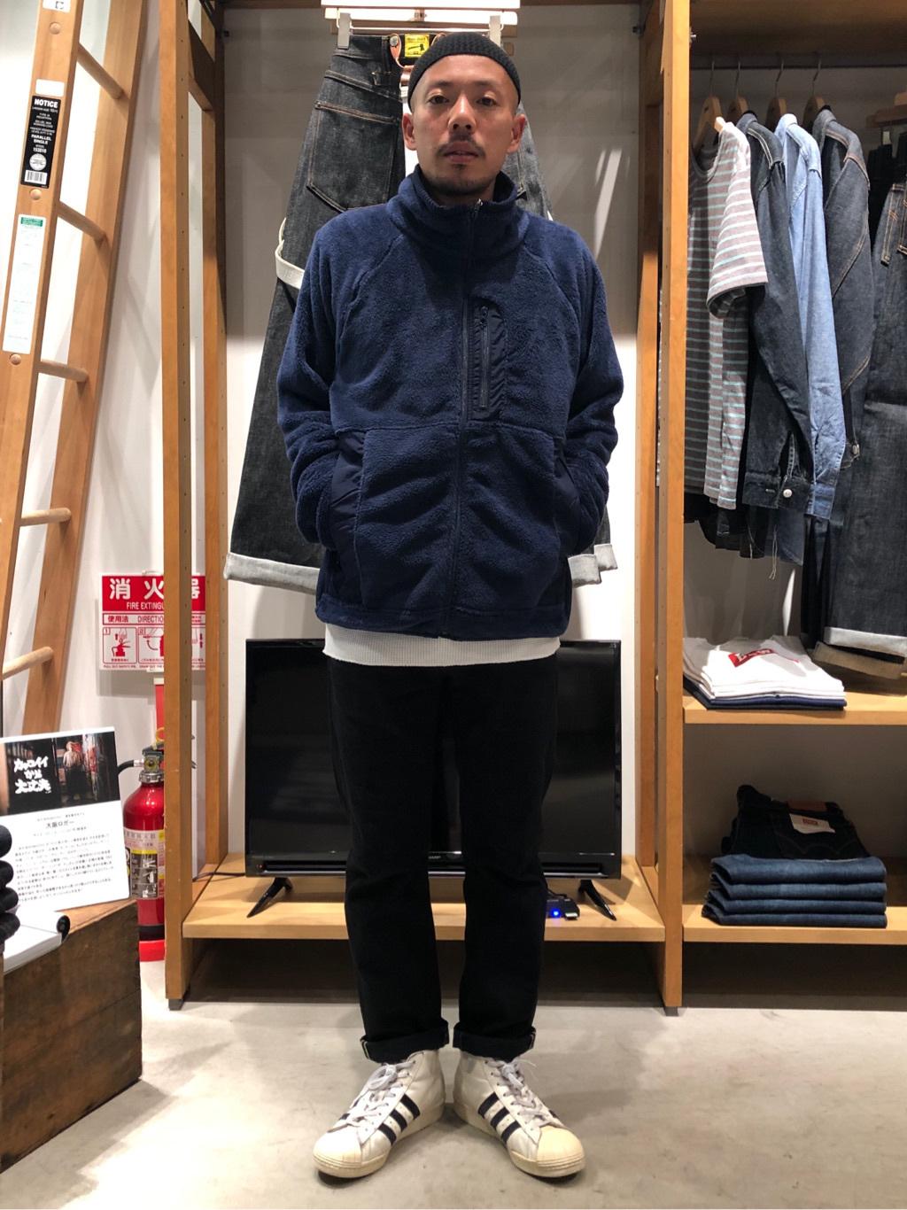 MINAMIHORIE店のカワノショウタさんのEDWINの【コンセプトショップ限定】THERMAL TEEを使ったコーディネート
