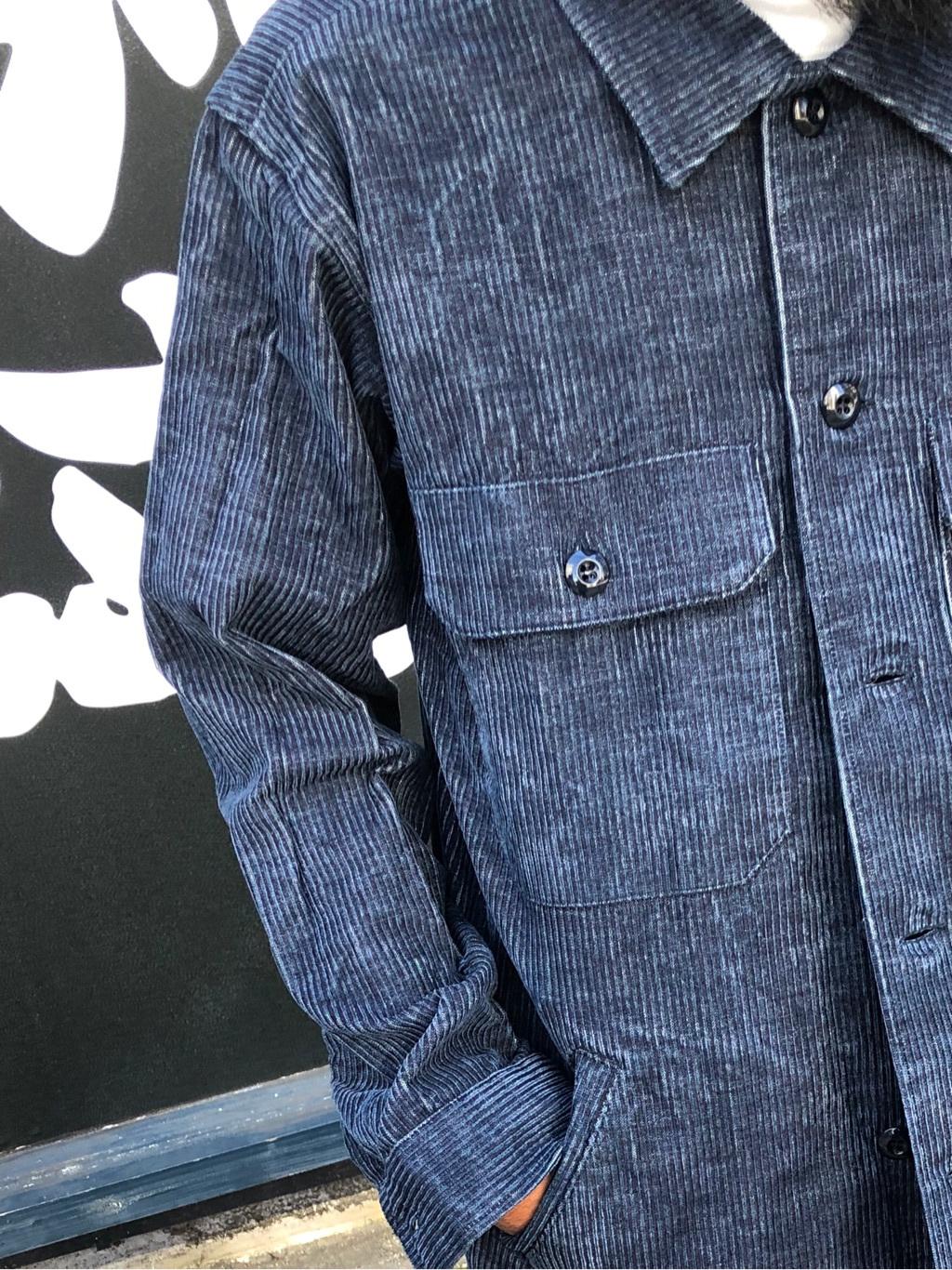 MINAMIHORIE店のカワノショウタさんのEDWINの【コンセプトショップ限定】INDIGO GARMENTS FATIGUE JACKETを使ったコーディネート