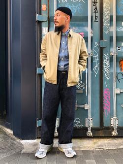 MINAMIHORIE店のカワノショウタさんのEDWINの【コンセプトショップ限定】EDWIN MINAMIHORIE 2周年限定モデル OSAKA LOGGERを使ったコーディネート