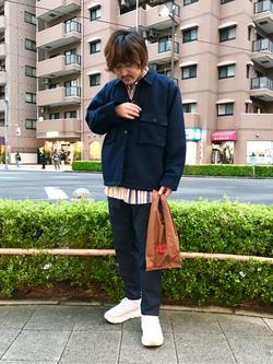 日暮里駅前店のKeisukeさんのEDWINのヘリンボーン CPO ジャケットを使ったコーディネート