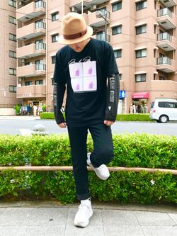 日暮里駅前店のKeisukeさんのEDWINの【期間限定セール】ジャージーズ スリムテーパードを使ったコーディネート