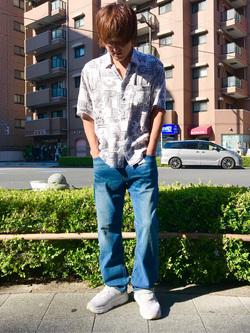 日暮里駅前店のKeisukeさんのEDWINの503 ルーズストレートを使ったコーディネート