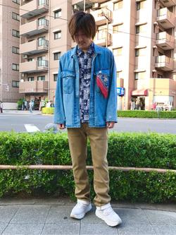 日暮里駅前店のKeisukeさんのEDWINの【期間限定セール】ジャージーズ ストレートを使ったコーディネート