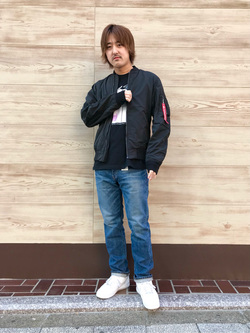 日暮里駅前店のKeisukeさんのEDWINの503 レギュラーストレートを使ったコーディネート