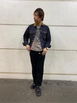 アミュプラザ長崎店のTAKAさんのLeeのストームライダー ジャケットを使ったコーディネート