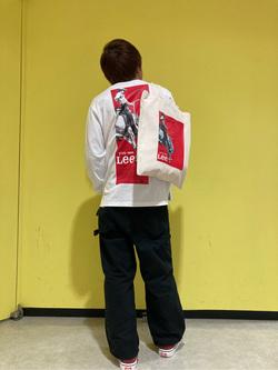 アミュプラザ長崎店のTAKAさんのLeeの【ユニセックス】DUNGAREES ペインターパンツを使ったコーディネート