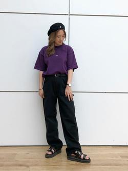 エスパル仙台店のhikaruさんのLeeの【ユニセックス】ヘビーウエイト Tシャツを使ったコーディネート