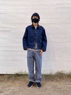 原宿店のYoshitakaさんのLeeの【Winter sale】101 PROJECT STORM COWBOY JACKETを使ったコーディネート