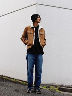 原宿店のYoshitakaさんのLeeの終了【WINTER SALE】BOA STORM RIDERを使ったコーディネート