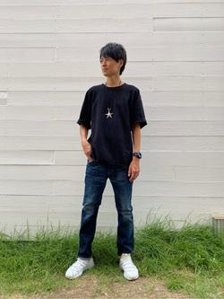 原宿店のYoshitakaさんのLeeのAMERICAN RIDERS 203 テーパードを使ったコーディネート