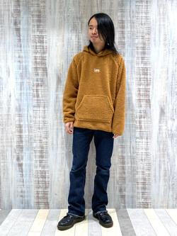 Lee 名古屋店のFuuyaさんのLeeのAMERICAN RIDERS 102 ブーツカットジーンズを使ったコーディネート
