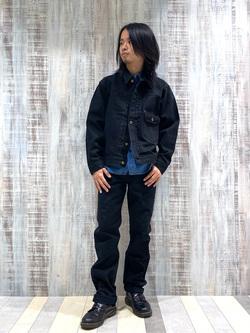 Lee 名古屋店のFuuyaさんのLeeのワークシャツ 長袖を使ったコーディネート