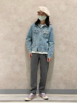 Lee 名古屋店のFuuyaさんのLeeの101J デニムジャケットを使ったコーディネート
