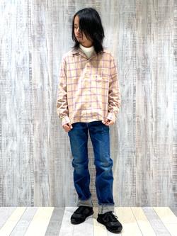 Lee 名古屋店のFuuyaさんのLeeの【Pre sale】AMERICAN RIDERS 101Z ストレートジーンズを使ったコーディネート