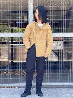 Lee 名古屋店のFuuyaさんのLeeの【SPRING SALE】マウンテンパーカー/ジャケットを使ったコーディネート