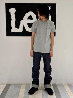 Lee 名古屋店のFuuyaさんのLeeの【男女兼用】パックポケットTシャツ 半袖を使ったコーディネート