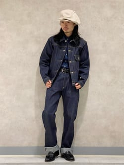 Lee 名古屋店のFuuyaさんのLeeの【Archives】WWII大戦モデル 101J COWBOY JACKETを使ったコーディネート