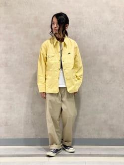 Lee 名古屋店のFuuyaさんのLeeの【SALE】【セットアップ対応】ロコジャケット/カバーオールを使ったコーディネート