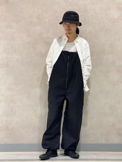 Lee 名古屋店のFuuyaさんのLeeの【Lee×GRAMICCI(グラミチ)】オーバーオールを使ったコーディネート