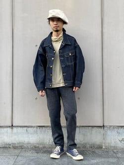 Lee 名古屋店のFuuyaさんのLeeの【Lee×GRAMICCI(グラミチ)】ペインター スリムテーパードパンツを使ったコーディネート