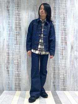 Lee 名古屋店のFuuyaさんのLeeの101 PROJECT COWBOY JACKETを使ったコーディネート