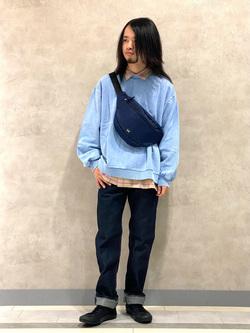 Lee 名古屋店のFuuyaさんのLeeのAMERICAN RIDERS 101Z ストレートジーンズを使ったコーディネート