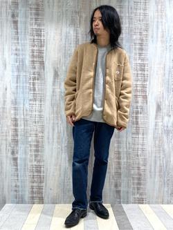 Lee 名古屋店のFuuyaさんのLeeの【Pre sale】【男女兼用】デニムポケット スウェットを使ったコーディネート