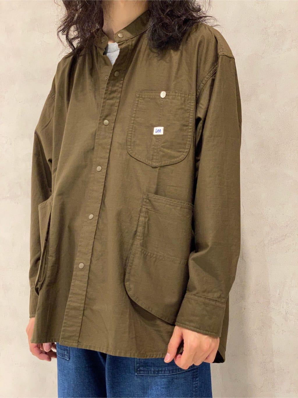 Lee 名古屋店のFuuyaさんのLeeのビッグポケット シャツジャケットを使ったコーディネート