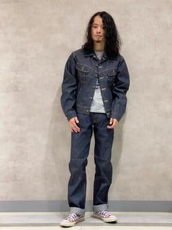 Lee 名古屋店のFuuyaさんのLeeのARCHIVES RIDERS 101J 1950S デニムジャケットを使ったコーディネート