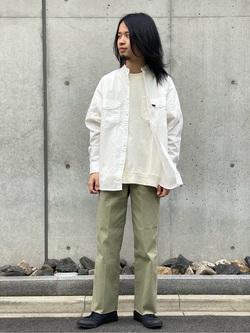 Lee 名古屋店のFuuyaさんのLeeの【すっきりキレイに履ける】ペインターパンツを使ったコーディネート