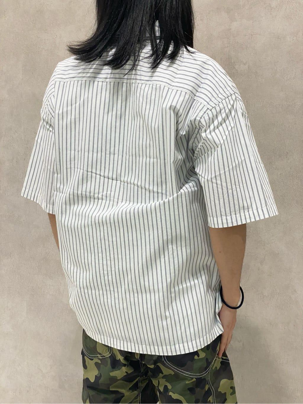 Lee 名古屋店のFuuyaさんのLeeの【Lee×GRAMICCI(グラミチ)】ペインター ショートパンツを使ったコーディネート
