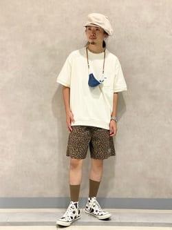 Lee 名古屋店のFuuyaさんのLeeの【SALE】【軽くてはきやすい】アスレティック ショーツを使ったコーディネート