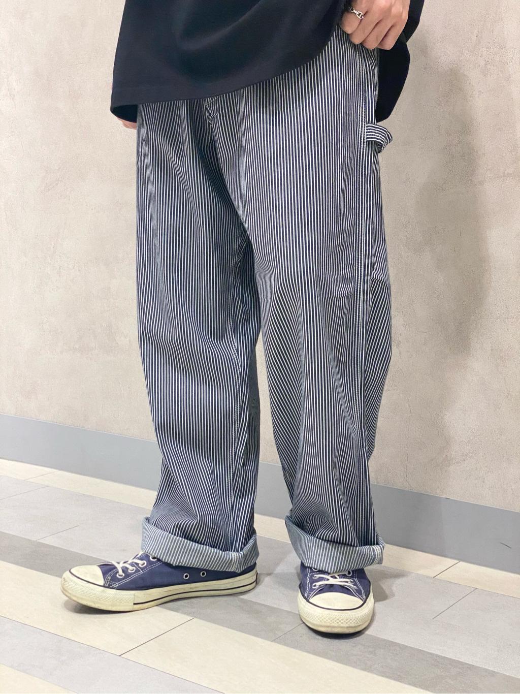 Lee 名古屋店のFuuyaさんのLeeの【軽くて涼しい】ライトウエイト ペインターパンツを使ったコーディネート