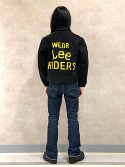 Lee 名古屋店のFuuyaさんのLeeの【Winter sale】101 PROJECT RIDERS JACKETを使ったコーディネート