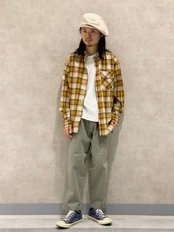 Lee 名古屋店のFuuyaさんのLeeのチェック柄 長袖シャツを使ったコーディネート