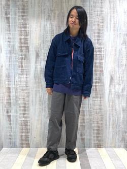 Lee 名古屋店のFuuyaさんのLeeの【セットアップ対応】チェトパ ジャケットを使ったコーディネート