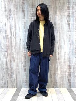 Lee 名古屋店のFuuyaさんのLeeの【ユニセックス】DUNGAREES ペインターパンツを使ったコーディネート