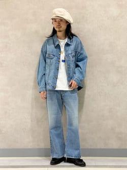 Lee 名古屋店のFuuyaさんのLeeのSUPERSIZED ブーツカットを使ったコーディネート