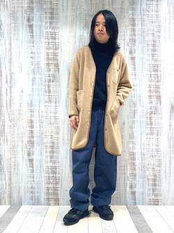 Lee 名古屋店のFuuyaさんのLeeの終了【ユニセックス】DUNGAREES ペインターパンツを使ったコーディネート